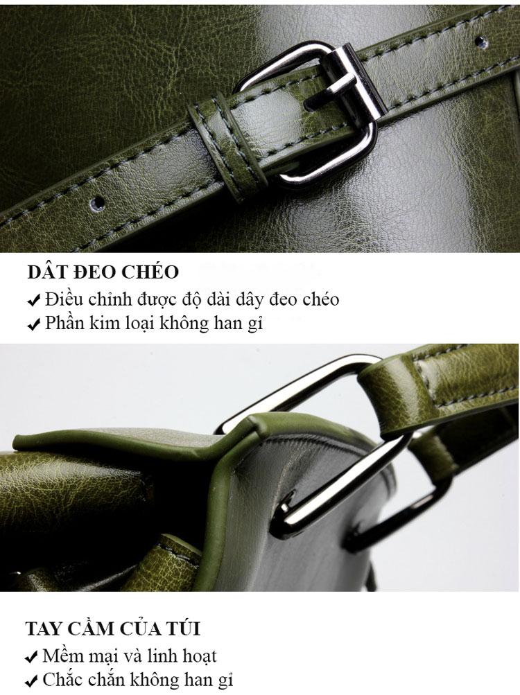 Túi xách Da Thật bóng mịn phong cách Hàn Quốc trẻ trung VAS12106 (27)