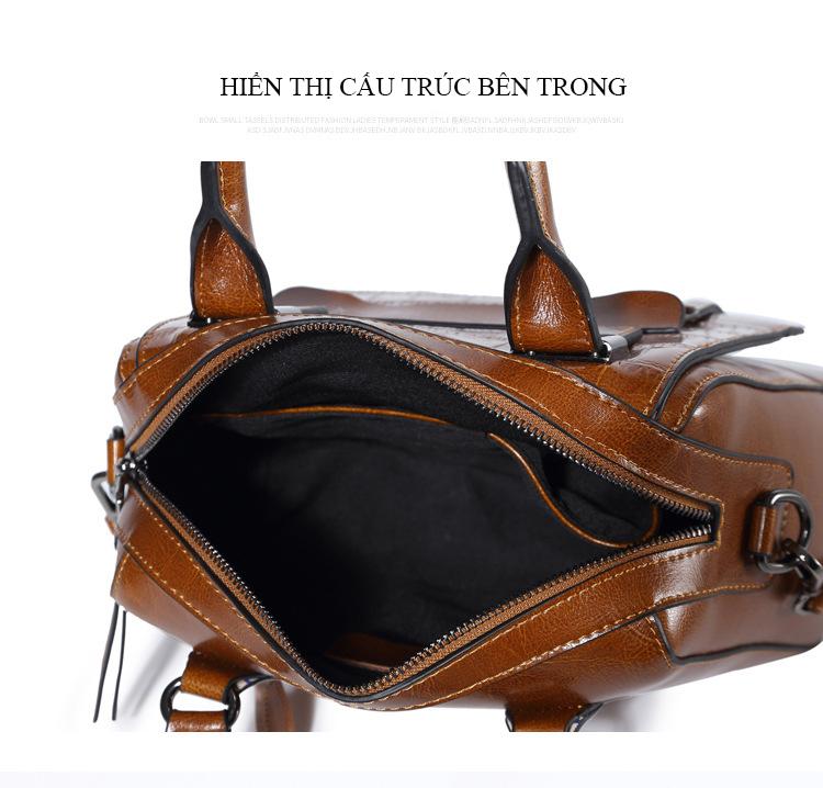 Túi xách da bò phong cách Hàn Quốc trẻ trung T11178 (14)